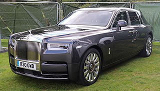 Rolls-Royce Phantom (eighth generation) Motor vehicle