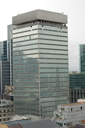 20 Fenchurch Street - The previous building on the site, as seen from the Monument