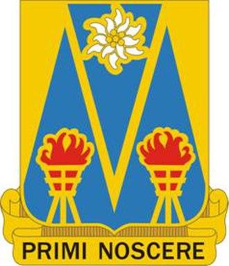 504th Military Intelligence Brigade - Image: 303 MI Bn DUI