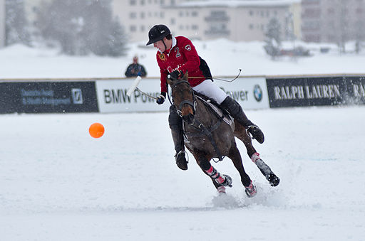 30th St. Moritz Polo World Cup on Snow - 20140202 - Cartier vs Ralph Lauren 9
