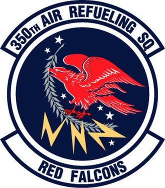 350th Air Refueling Squadron - 165 px