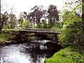 3510. Bolshaya Izhora. Bridge over the Chyornaya River.jpg