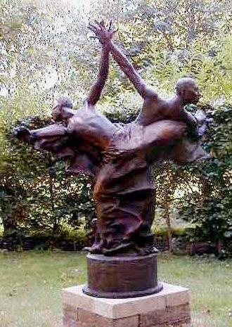 John Mills (British sculptor) - Three Kings. Hinxworth Place.