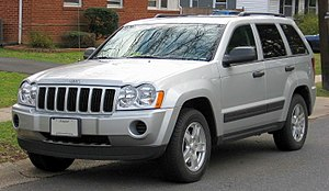 2005-2007 Jeep Grand Cherokee photographed in ...