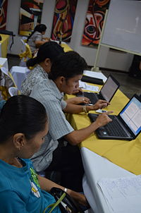 3rd Waray Wikipedia Edit-a-thon 09.JPG