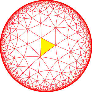 Truncated order-8 triangular tiling - Image: 433 symmetry 000