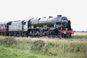 West Coast Railways - 46115 working one of WCR's regular trains from York to Scarborough