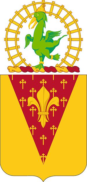53rd Coast Artillery Regiment - Coat of arms