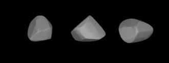 732 Tjilaki - A three-dimensional model of 732 Tjilaki based on its light curve