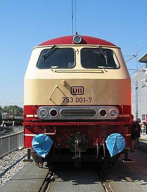 DB Class V 162 - Departmental locomotive 753 001
