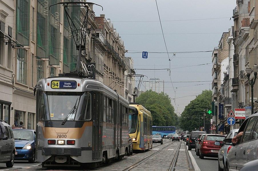 Nieuwe kleuren MIVB-trams