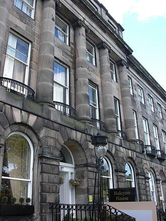 Alexander Ignatius Roche - Roche's huge townhouse at 8 Royal Terrace, Edinburgh