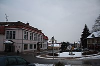 8th May Square in Hrotovice, Třebíč District.jpg