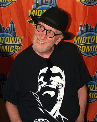 Frank Miller (comics) - Miller during an appearance at Midtown Comics in Manhattan