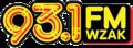 93.1 WZAK logo.png