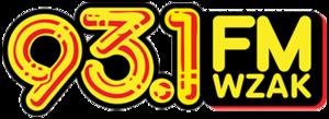 WZAK - Image: 93.1 WZAK logo