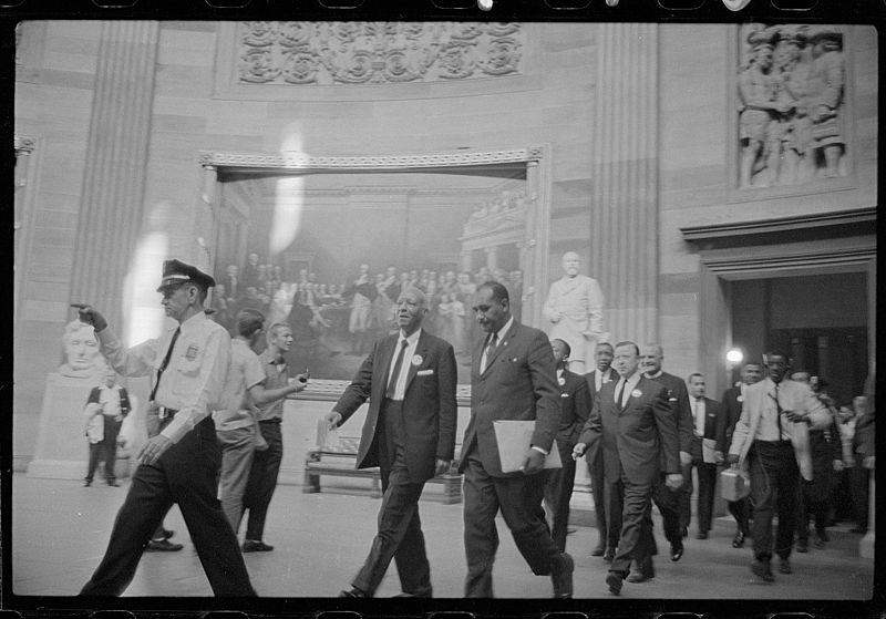 File:A. Philip Randolph and other civil rights leaders Rotunda.jpg