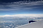 A380 over the Atlantic (27689018155).jpg