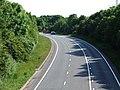 A494 passes New Brighton, Flintshire - DSCF1154.JPG