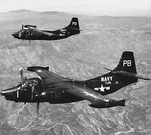 North American AJ Savage - Two AJ-2Ps of VAP-61 in 1953
