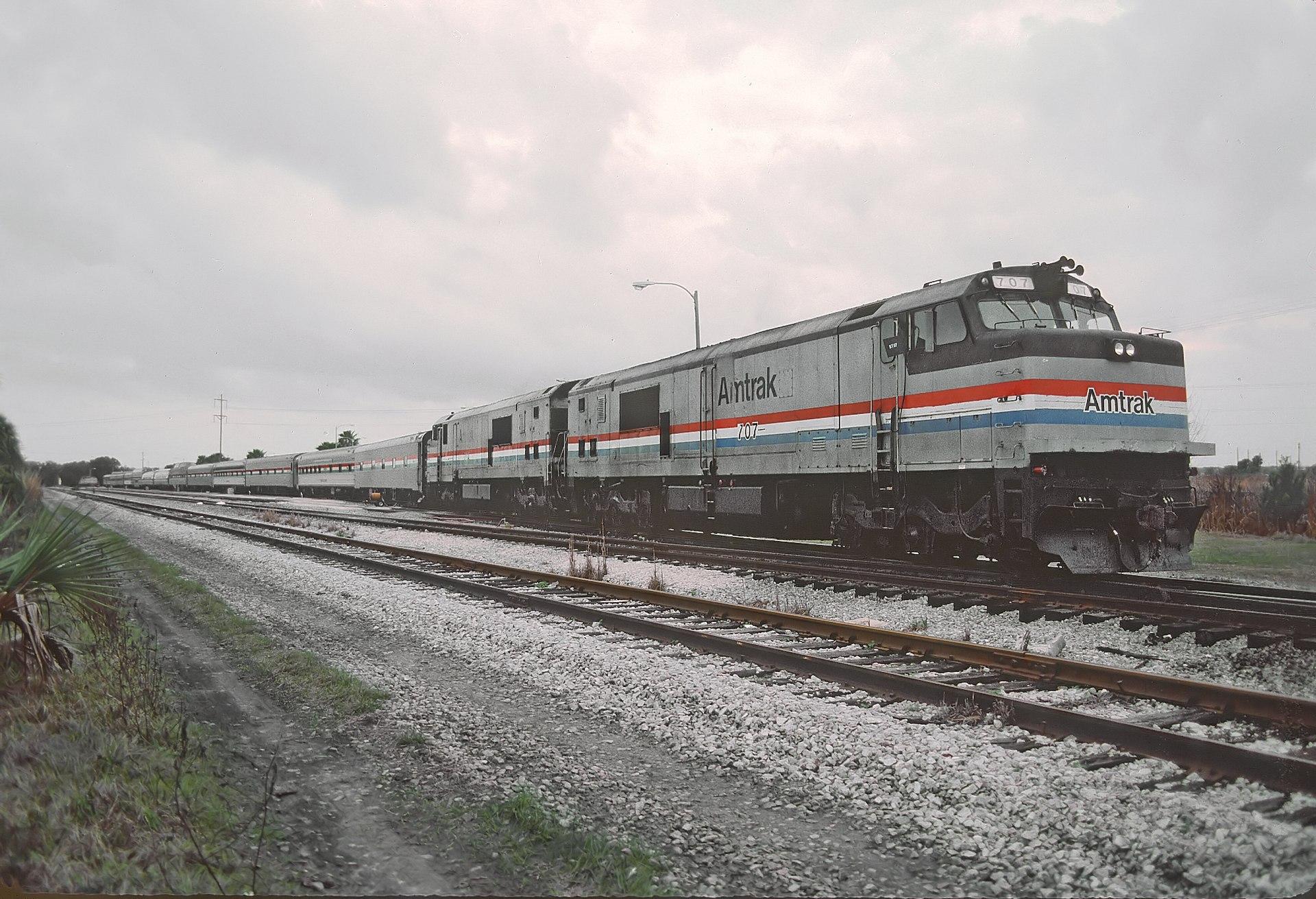 Amtrak Auto Train Cafe Menu