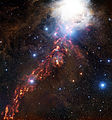 APEX view of star formation and cosmic clouds in the Orion Nebula.jpg
