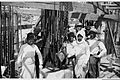 ARABS AND JEWS WORKING IN HARMONY AT THE CONSTRUCTION SITE OF THE Y.M.C.A. BUILDING, IN JERUSALEM. פועלי בנייה יהודים וערבים, בתחילת בניית פרוייקט בני.jpg