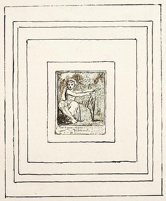 All Religions are One - Image: ARO Plate 1 (Frontispiece)
