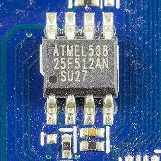 Serial Peripheral Interface - SPI Serial Memory by Atmel
