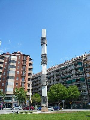 Xavier Corberó - Image: A Josep Tarradellas P1440628