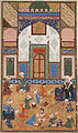 A School Scene, Painting from a Manuscript of Yusuf and Zulaykha of Jami LACMA M.73.5.440.jpg