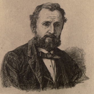 James Thomson (poet, born 1834) - Portrait of Thomson from A Voice from the Nile, and Other Poems