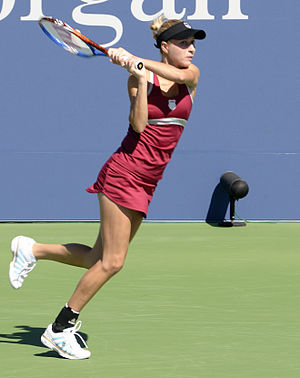 Alona Bondarenko - Bondarenko at the 2011 US Open