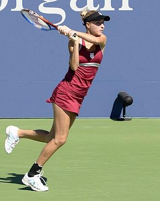 Alona Bondarenko - Bondarenko at the 2011 US Open