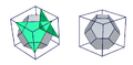 A cube Bitruncating to a truncated octahedron.png