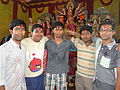 A great moment of Durga Puja.JPG