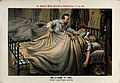 A man getting into bed with two others Wellcome V0050361.jpg