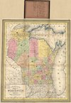 Lossy page1 100px a new map of the state of wisconsin. loc 2012593317.tif