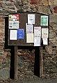 A notice board in Newstead - geograph.org.uk - 1755012.jpg