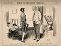 A servant asking her employer's dentist to fill one of her t Wellcome V0011540.jpg