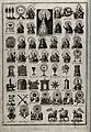 A table of Christian signs, symbols and images; top centre t Wellcome V0035685.jpg