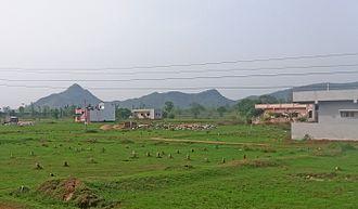 Parvathipuram, Andhra Pradesh - A view of Eastern Ghats near Parvathipuram