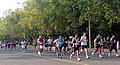 A view of the participants running at the 5th Delhi Half Marathon 2012, in New Delhi on September 30, 2012.jpg