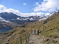 A walk up the Pyg track - the only stiles - geograph.org.uk - 772140.jpg