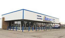Aaron's Store Dearborn Heights Michigan.JPG