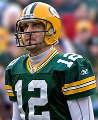Rodgers w barwach Green Bay Packers
