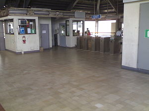 Abad Santos LRT station - Abad Santos station