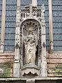 Abbaye de Saint-Pierre-sur-Dives - portail occidental niche statue ND.JPG
