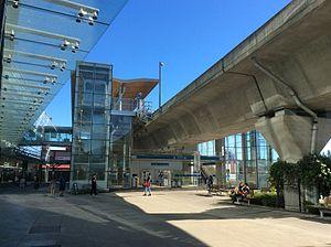 Aberdeen station (SkyTrain) - Aberdeen Station (2017)