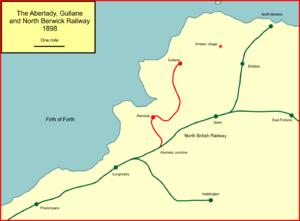 Aberlady, Gullane and North Berwick Railway - The Aberlady, Gullane and North Berwick Railway
